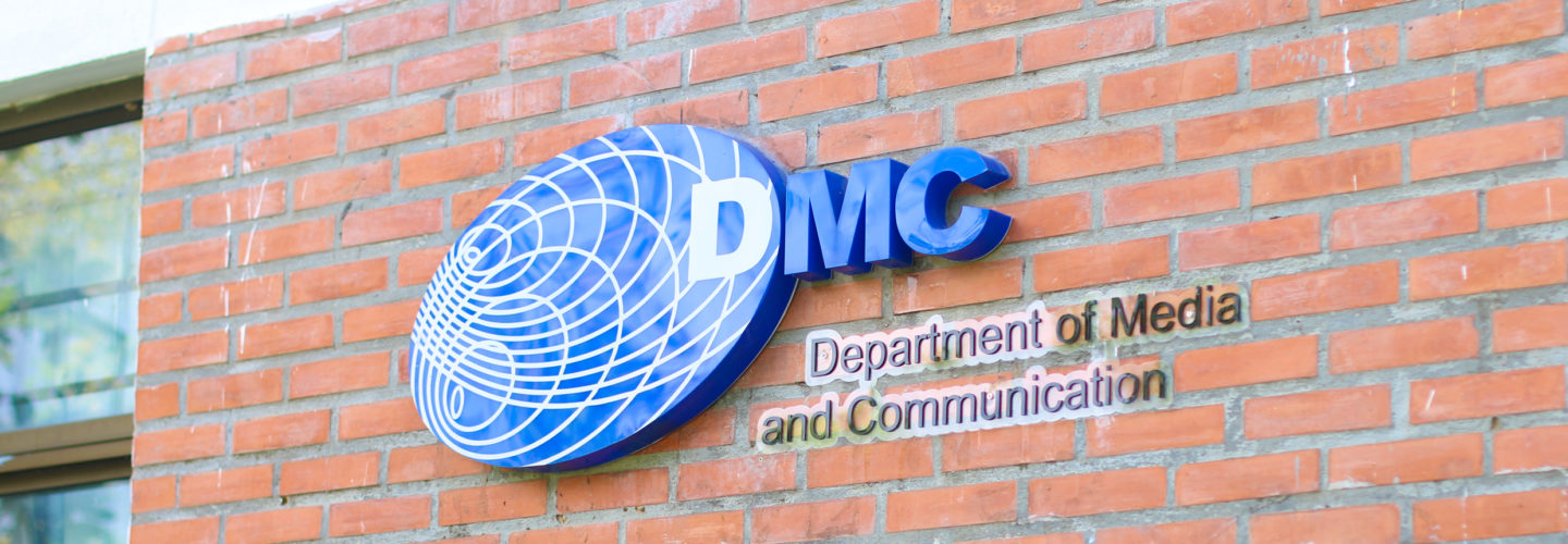 DMC – Department of Media and Communication